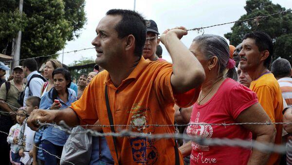 La frontera entre Colombia y Venezuela - Sputnik Mundo