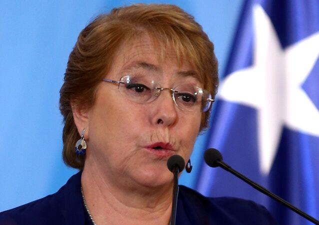 Michelle Bachelet, la alta comisionada de la Oficina de Derechos Humanos de la ONU
