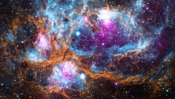 La imagen de la región NGC 6357, datos de Rayos X del Observatorio Chandra de la NASA - Sputnik Mundo