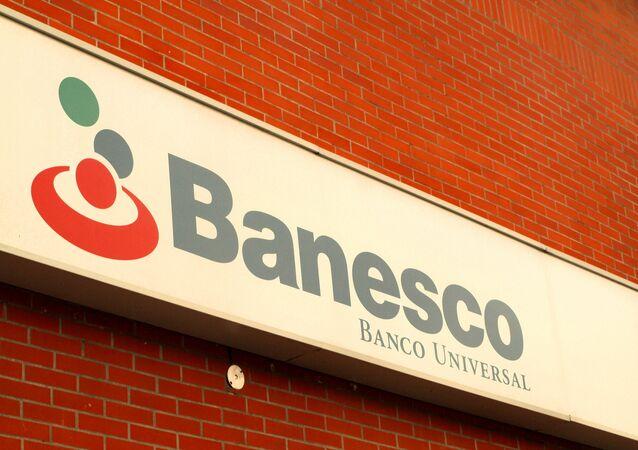 El logo del banco Banesco