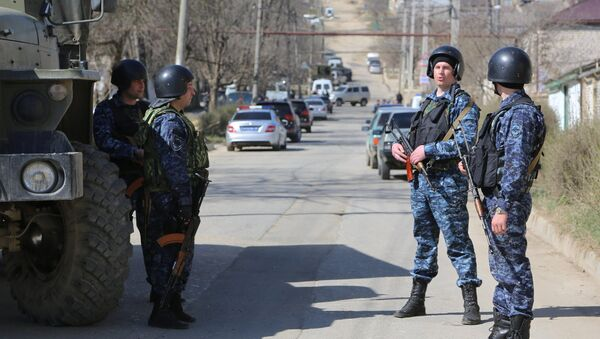 Policía de Daguestán - Sputnik Mundo