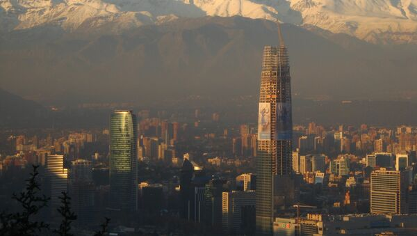 Cordillera de Los Andes - Sputnik Mundo