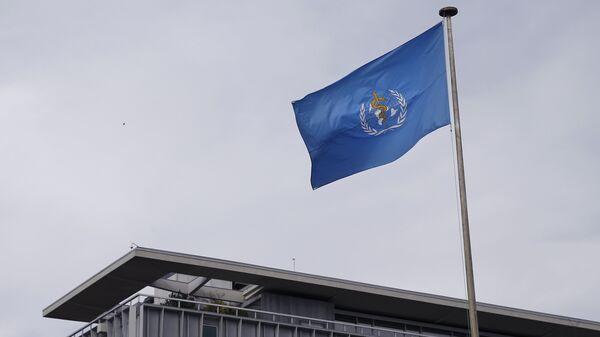 Bandera de la Organización Mundial de la Salud (OMS) - Sputnik Mundo