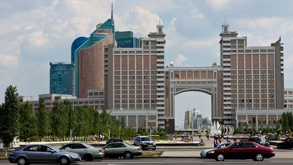 Astaná, la capital de Kazajistán - Sputnik Mundo