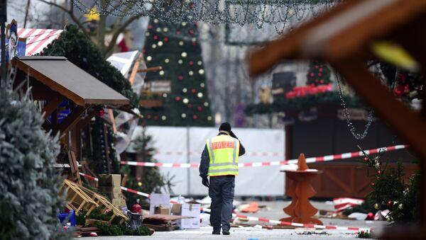 El día después del atentado terrorista en Berlín - Sputnik Mundo