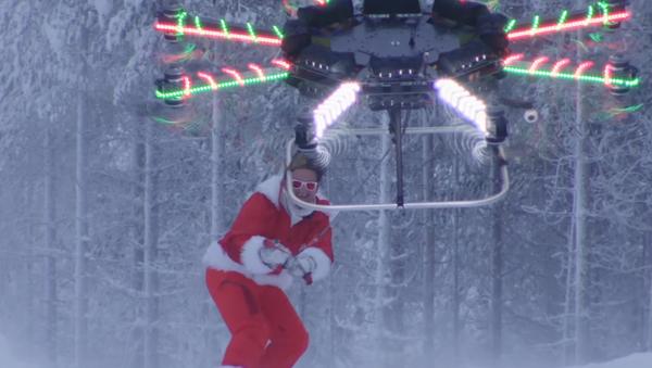 El increíble 'superdrón' capaz de hacer volar a una persona - Sputnik Mundo