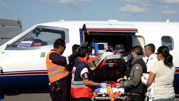 Ambulancia en México (imagen referencial) - Sputnik Mundo