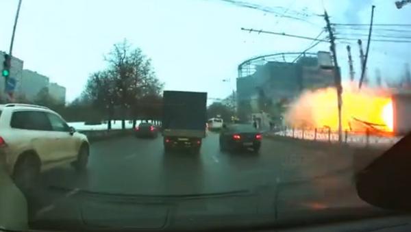 Explosión de gas en el metro de Moscú - Sputnik Mundo