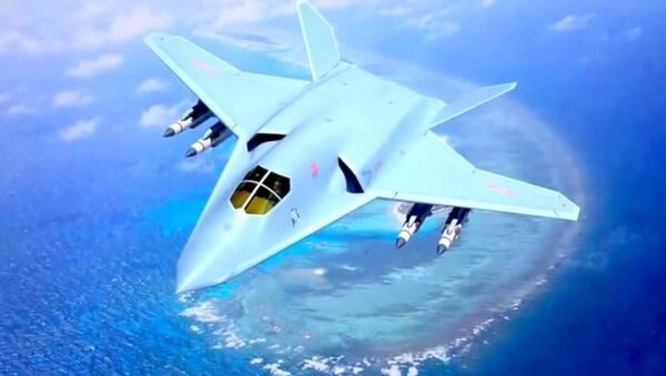 Diseño conceptual del bombardero furtivo H-20 - Sputnik Mundo