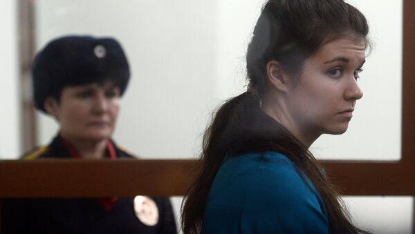 Оглашение приговора Варваре Карауловой - Sputnik Mundo