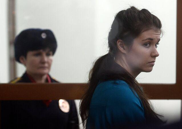 Exestudiante de la Universidad Lomonósov de Moscú, Alexandra Ivanova (anteriormente Varvara Karaúlova) que intentó incorporarse al grupo terrorista Daesh.