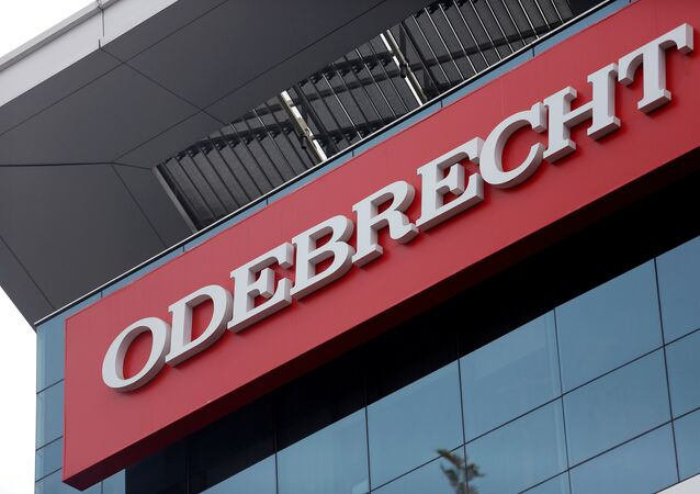 Logo de la empresa Odebrecht