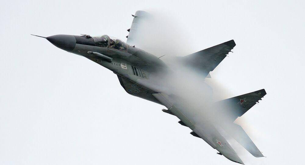 Caza ruso MiG-29