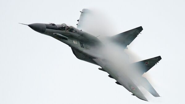 Caza ruso MiG-29 - Sputnik Mundo
