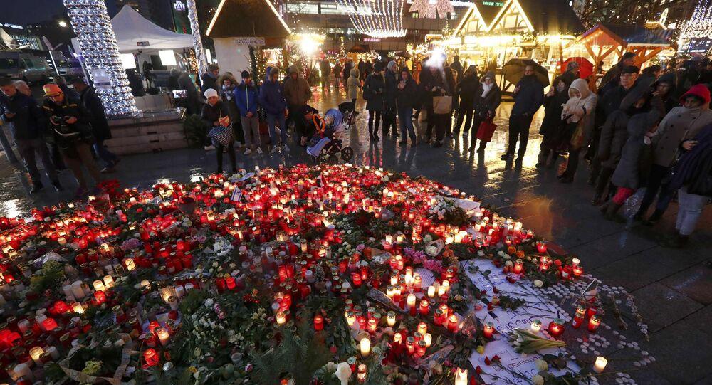 Homenaje a las víctimas del atentado en Berlín