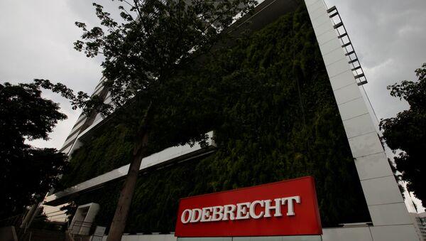 La sede de Odebrecht - Sputnik Mundo