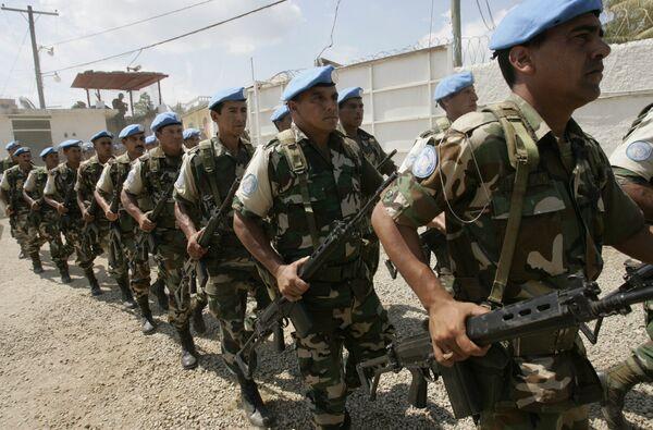 La Minustah funcionó en Haití desde 2004 a 2017. La misión de la ONU fue acusada de violaciones a los derechos humanos, violaciones sexuales, así como de haber causado la epidemia de cólera en Haití que causó más de 10.000 muertes, poco después del terremoto de 2010. - Sputnik Mundo