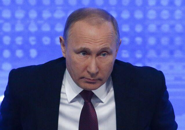Rueda de prensa de Vladímir Putin