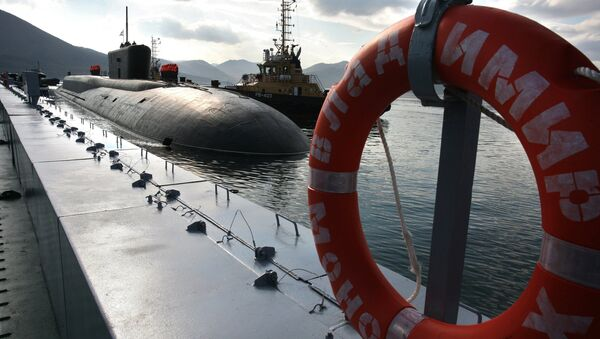 Submarino nuclear estratégico del proyecto Boréi (archivo) - Sputnik Mundo