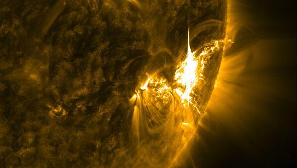 Solar storm - Sputnik Mundo