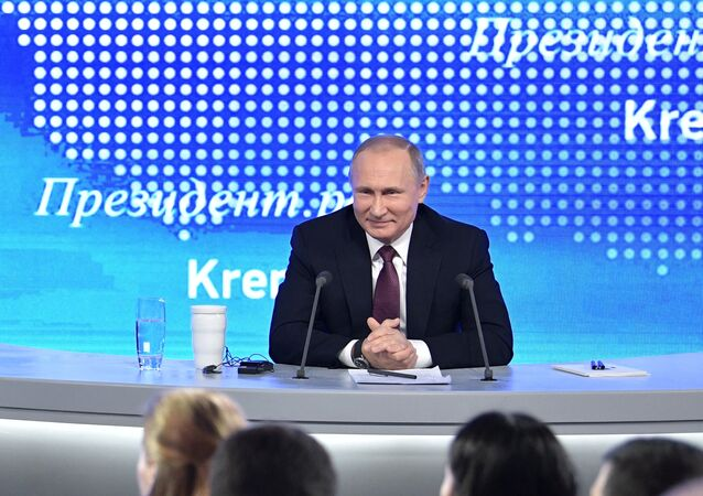 Gran rueda de prensa anual de Vladímir Putin