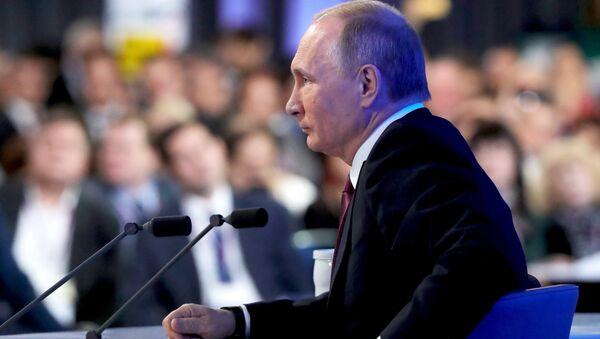 Rueda de prensa de Vladímir Putin - Sputnik Mundo