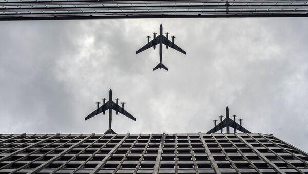 Bombarderos estratégicos Tu-95MS - Sputnik Mundo