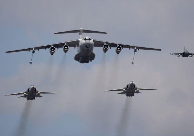 La aviación estratégica de las Fuerzas Aéreas de Rusia