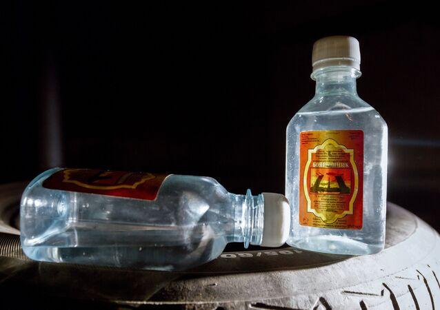 'Boyárishnik', loción de baño a base de alcohol metílico