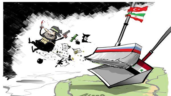 La liberación de Alepo - Sputnik Mundo