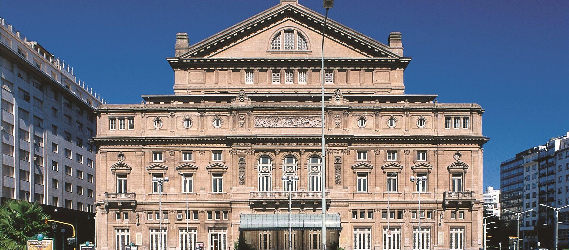 Teatro Colón, San Nicolás, Ciudad Autónoma de Buenos Aires - Sputnik Mundo, 1920, 29.05.2018