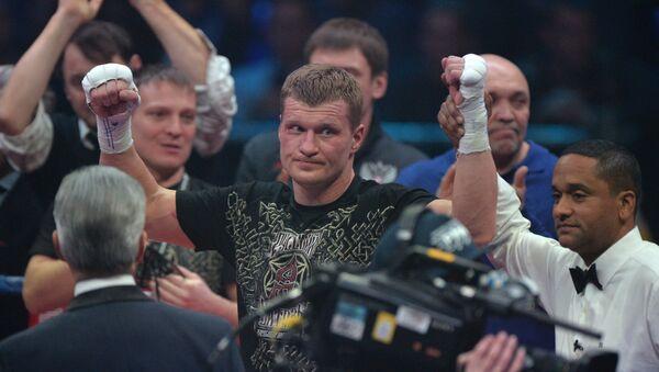 Alexánder Povetkin, boxeador ruso - Sputnik Mundo