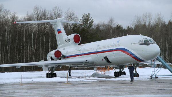 Avión ruso Tu-154 - Sputnik Mundo