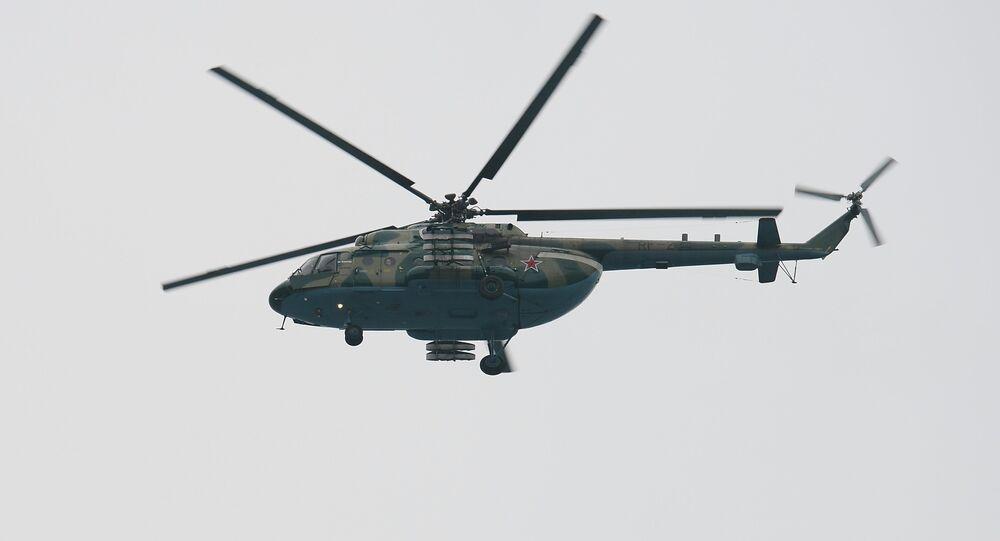 Un helicóptero Mi-8 (Archivo)