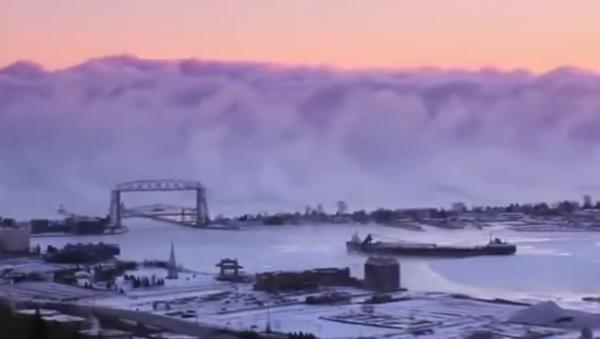 Una pared de humo en Minnesota - Sputnik Mundo