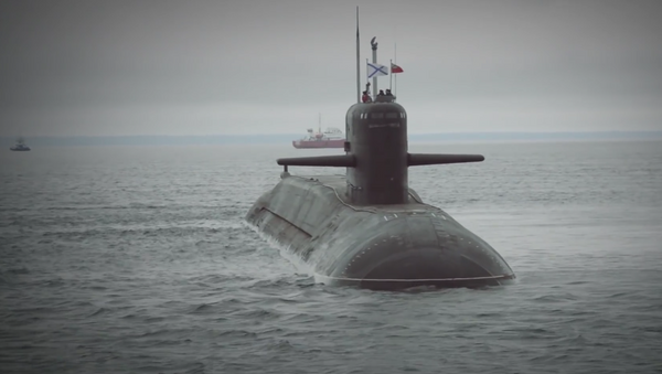 Submarino nuclear Podmoskovie - Sputnik Mundo