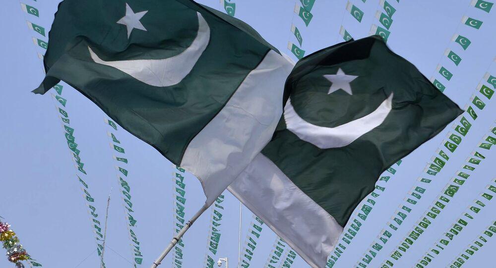Banderas de Pakistán (archivo)