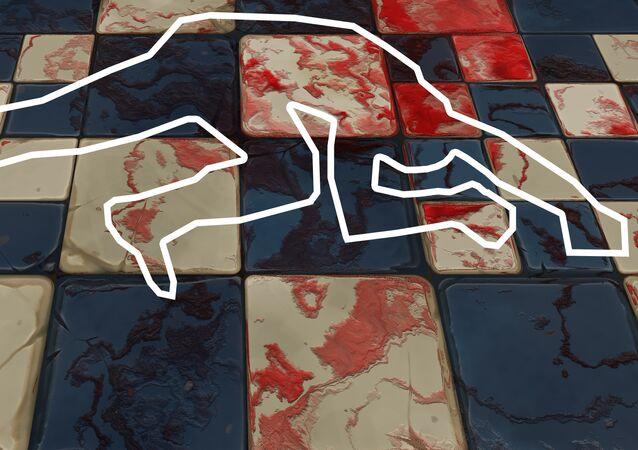 Lugar de un asesinato (imagen referencial)