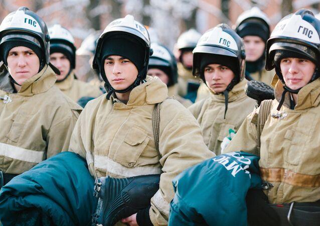 Rescatistas rusos (imagen referencial)