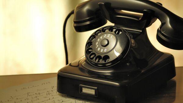 Un teléfono - Sputnik Mundo