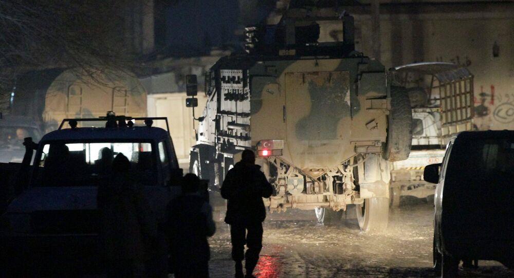Tropas turcas en Alepo, Siria