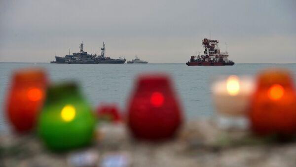 La operación de búsqueda y rescate en el lugar del siniestro de Tu-154 en Sochi - Sputnik Mundo