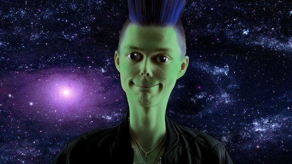 Un extraterrestre, imagen ilustrativa - Sputnik Mundo