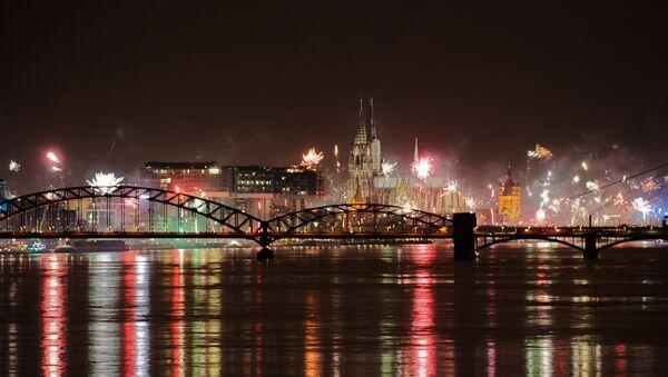Nochevieja en Colonia, Alemania - Sputnik Mundo