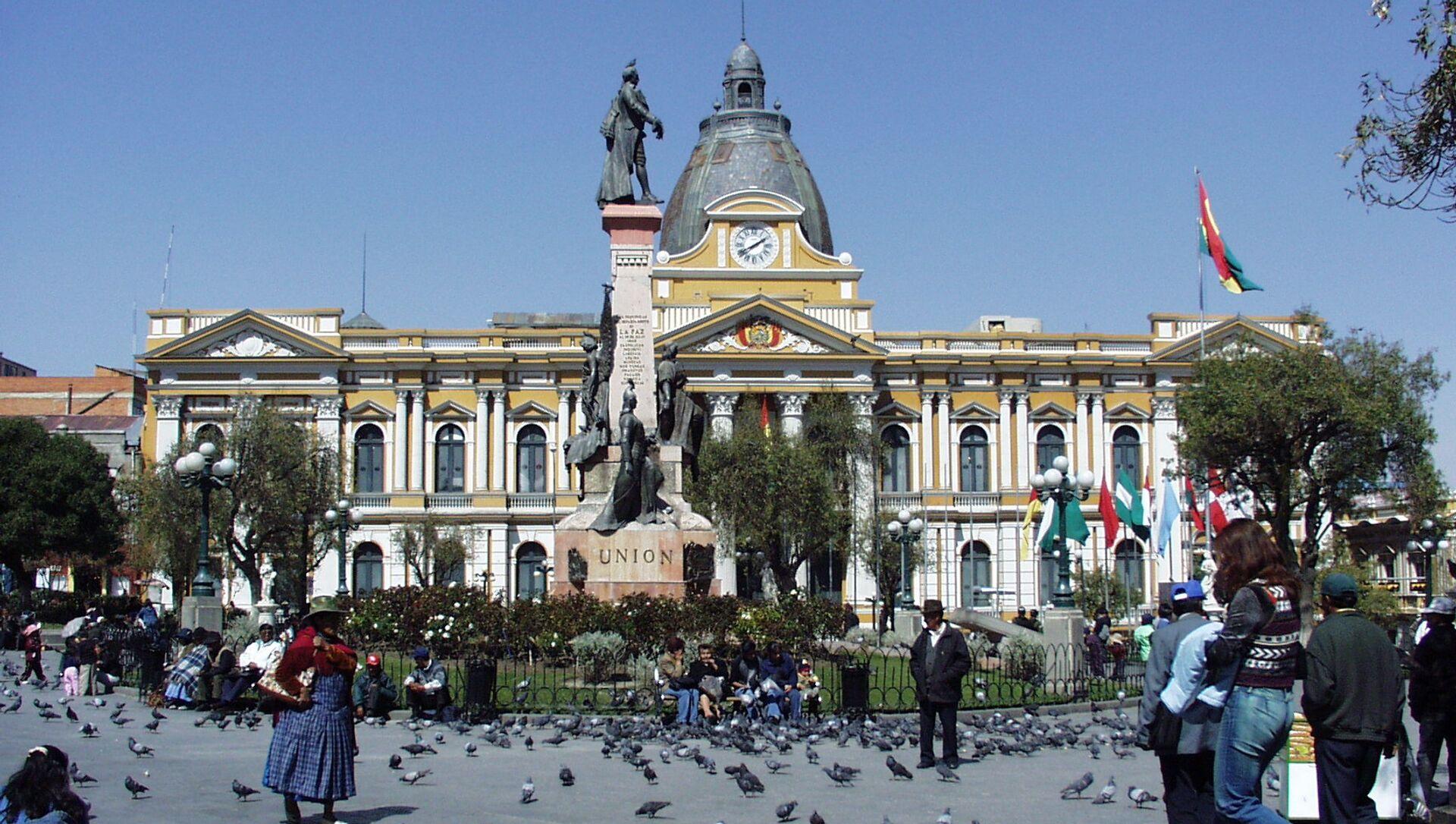 Palacio Nacional de Congreso, La Paz (Bolivia) - Sputnik Mundo, 1920, 04.02.2021