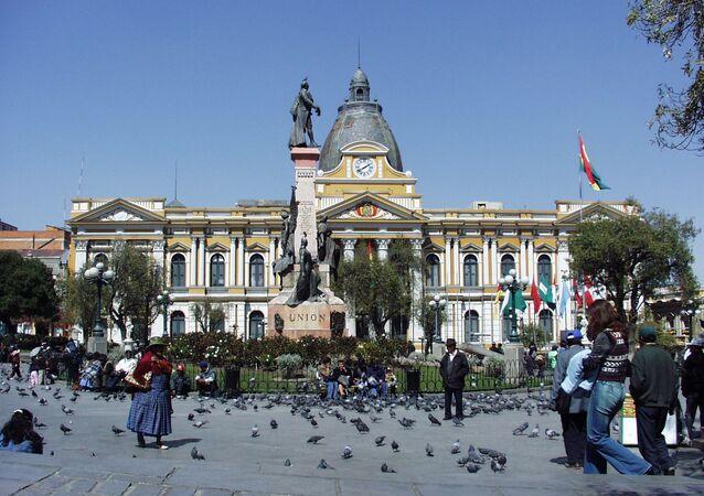 El Parlamento de Bolivia (archivo)