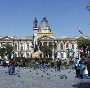 Palacio Nacional de Congreso, La Paz (Bolivia)