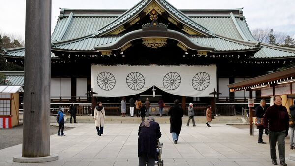 El templo de Yasukuni en Tokio, Japón - Sputnik Mundo