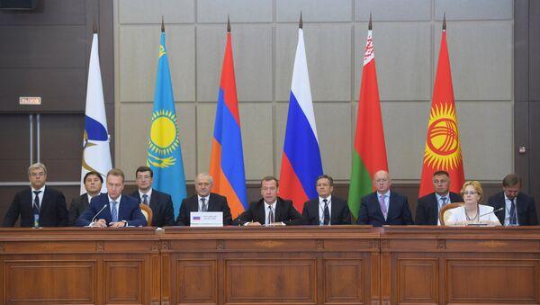 Reunión de la Unión Económica Euroasiática - Sputnik Mundo
