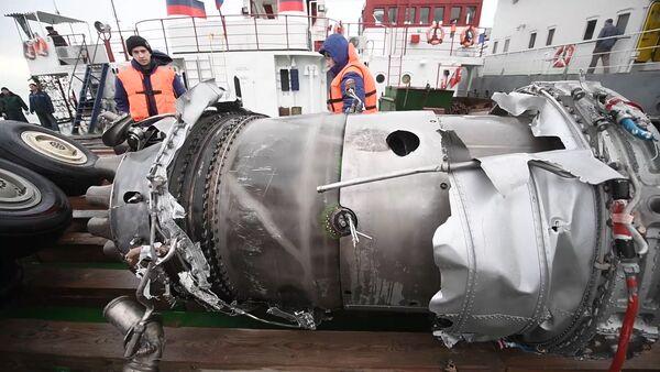 Поисковые работы в районе крушения ТУ-154 Минобороны РФ - Sputnik Mundo